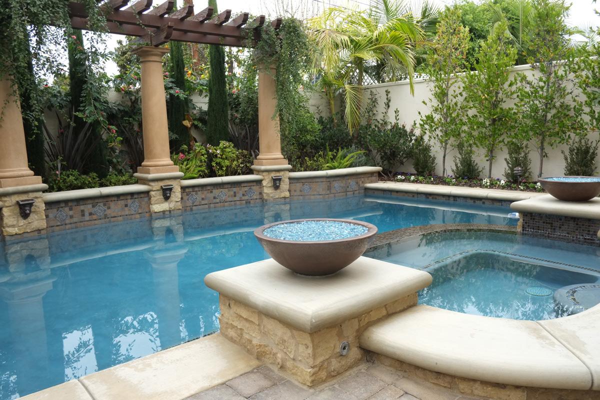 geometric pools and spas u2013 sunset outdoor creations
